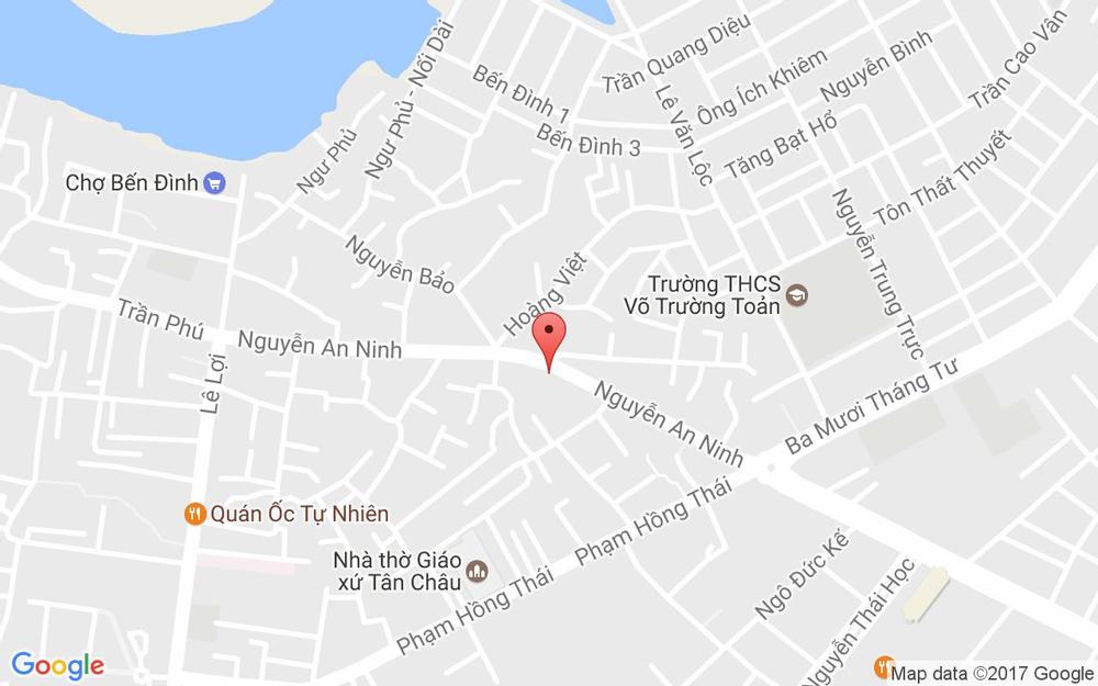 Vị trí bản đồ 144 Nguyễn An Ninh Tp. Vũng Tàu Vũng Tàu