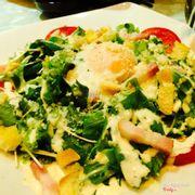 Rayu salad - salad rau chân vịt