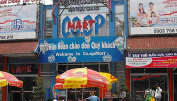 Siêu Thị Co.opMart - Hậu Giang