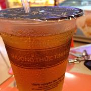 Cốc nước đường hương trà nhài