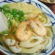 Mì udon hải sản vị cay