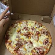 Pizza bò ngô