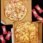 Pizza special và bolognese
