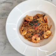 Tomyum Seafood Spaghetti (195k++)