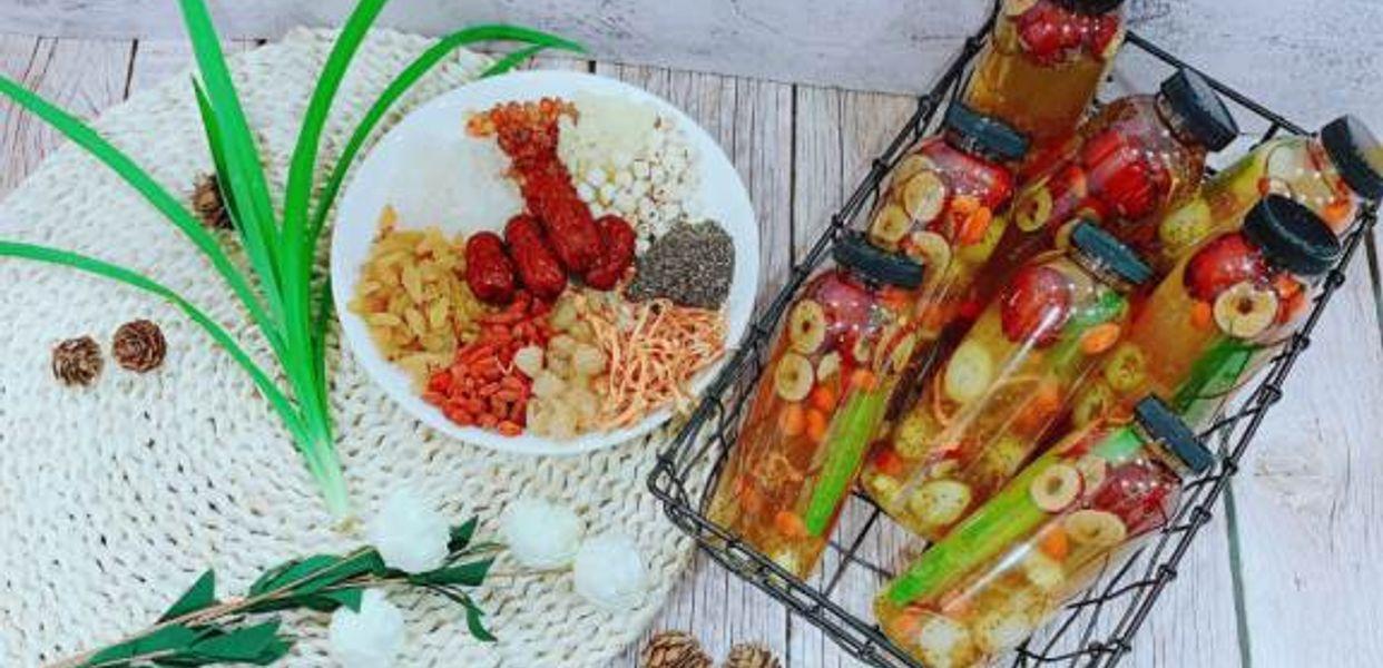 Bếp Của Ụt - Chè Dưỡng Nhan & Sâm Dừa - Bàn Cờ   Đặt Món & Giao ...