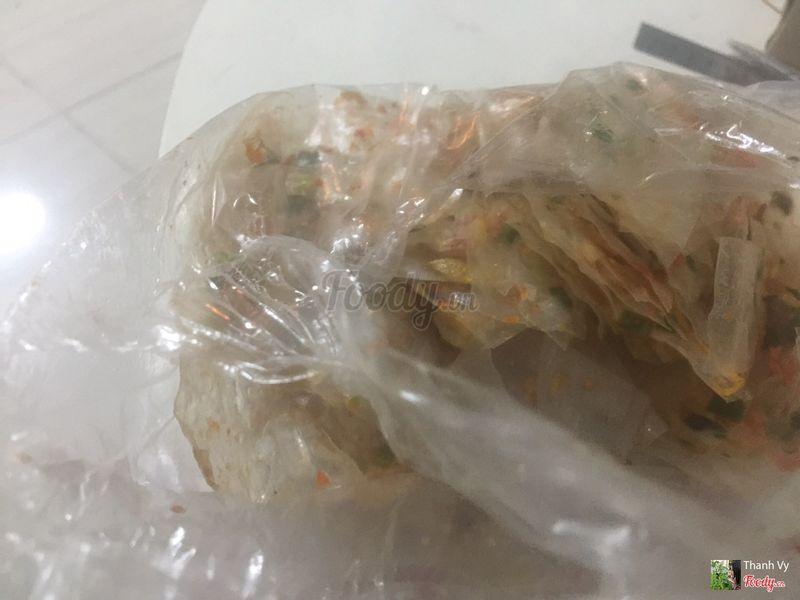 Bánh tráng mỡ hành - 18k