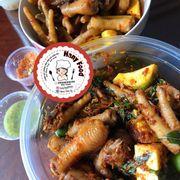 Sốt chua cay Thailand và Sốt sate ruốc (con ruốc)