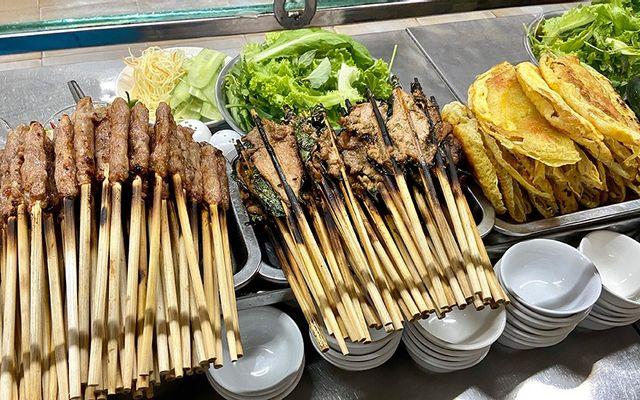 Ty Tâm - Nem Lụi & Bánh Xèo - Chợ Cồn