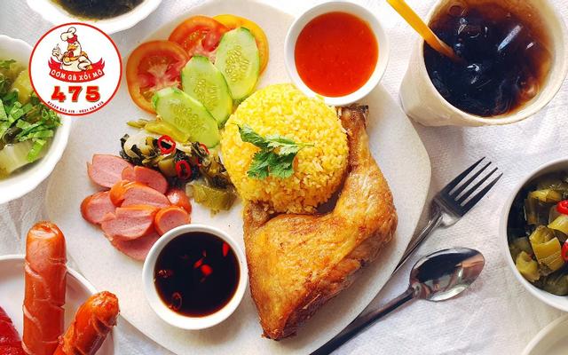 Cơm Gà Xối Mỡ 475 - Trần Phú