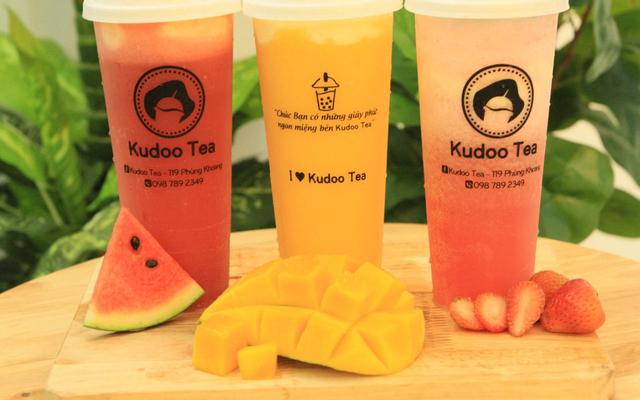 Kudoo Tea - Trà Sữa Kem Cheese _Trà Hoa Quả Tươi Mát - Phùng Khoang
