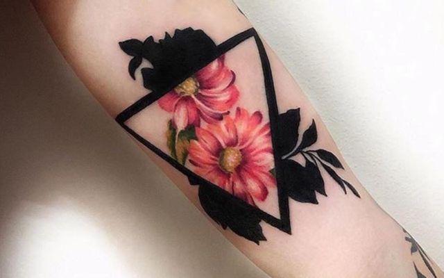 Black & White Ink Tattoo