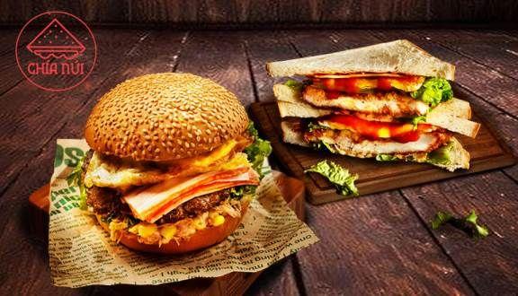 Sandwich - Hamburger Chía Núi - Minh Phụng