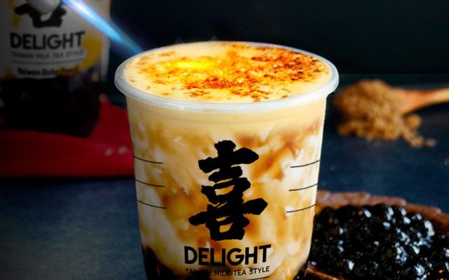 DELIGHT - Trà Sữa Brulee Đài Loan - Hoàng Sa