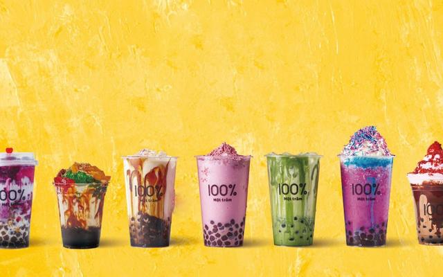 Một trăm 100% - Thương Hiệu Trà Sữa Đến Từ Nhật Bản