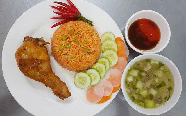 Cơm Gà Nhúng Sốt - An Phú Đông