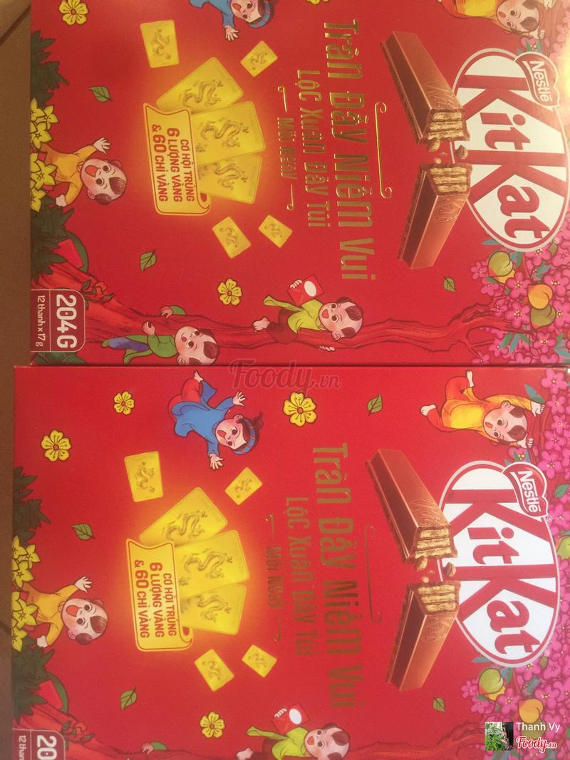 Kitkat vị Chocolate