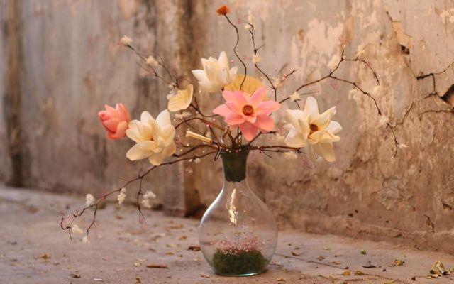 Lọ Thủy Tinh Và Hoa - Shop Hoa Khô Marguerite