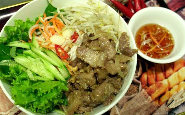 Bếp Nhà Chang - Bún Thịt Xào
