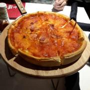 pizza nhồi phomai
