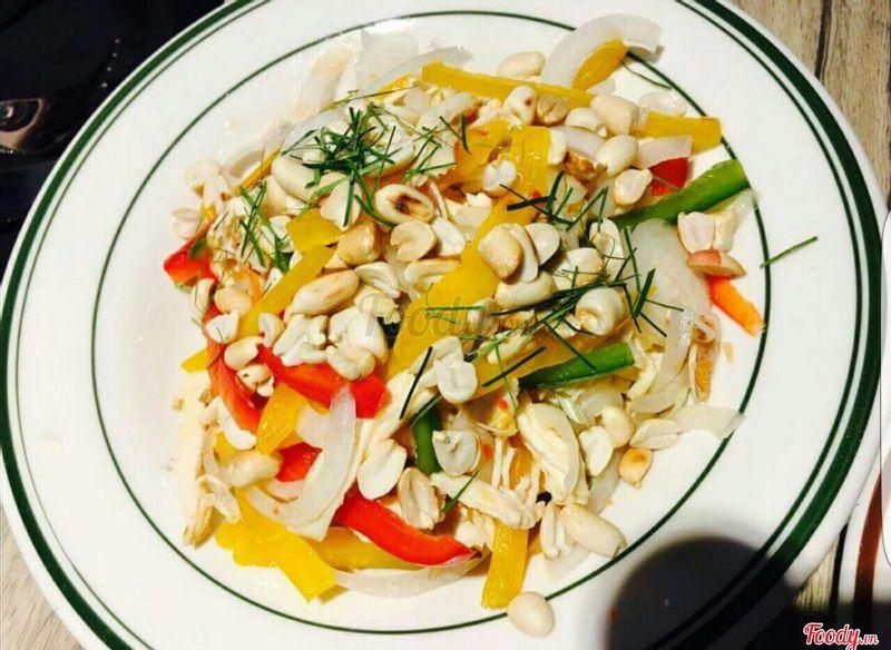 Salad trộn dầu dấm