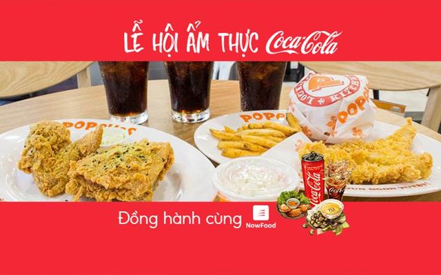 FoodFest - Gà Rán Popeyes - Lê Đại Hành - NowFoodxCoca-Cola