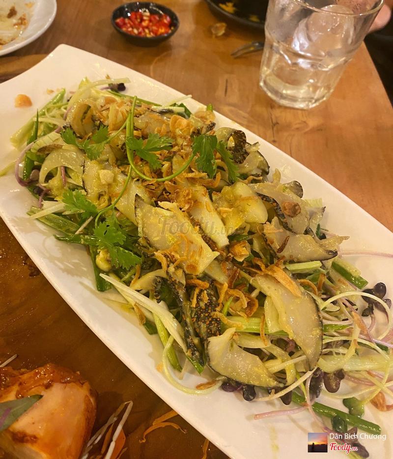 Gỏi ốc giác Wasabi