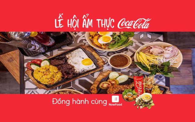 FoodFest - Mộc Vị Quán - Mì Quảng & Cơm Dĩa Nóng - Phan Xích Long - Nowfood x Coca