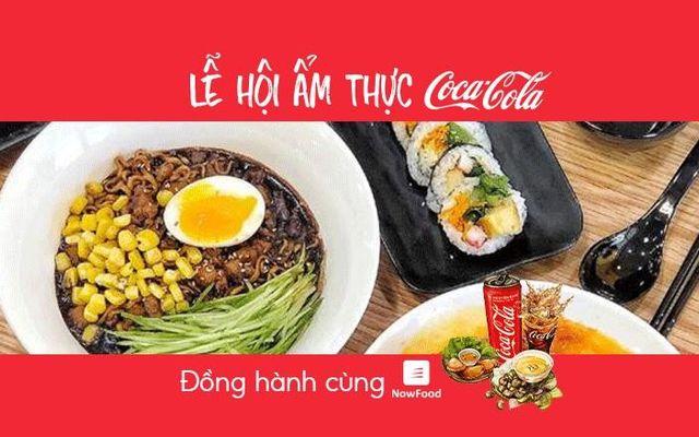 FoodFest - Kimbap Hoàng Tử - Món Hàn Quốc - Nguyễn Trọng Tuyển - NowFood x Coca