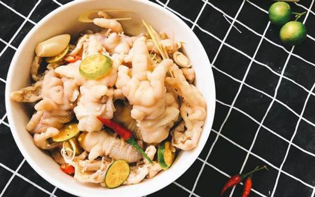 Bếp Rùa - Chân Gà Rút Xương Ngâm Sả Tắc - Shop Online - Phú Thọ Hoà