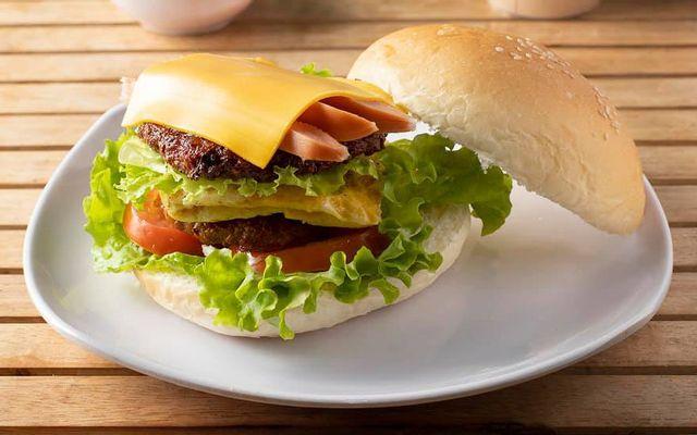 Hapi - Hamburger Bò Teriyaki