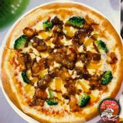 Pizza sườn heo sốt chua ngọt. Pizza Sườn chua ngọt là sự kết hợp hài hòa vị sườn chua ngọt, sốt cà chua, súp lơ xanh kèm phô mai béo ngậy. Đây là món được khách hàng ưa chuộng nhất. Giá cả lại cực kỳ phải chăng: + Size S (nhỏ): 59.000 vnd + Size M (vừa): 109.000 vnd + Size L (lớn): 169.000 vnd + Tặng 2 pepsi/coca ���PIZZA BÁ VƯƠNG – PIZZA TƯƠI VÌ SỨC KHỎE NGƯỜI VIỆT ��� �Hotlin Đặt bánh: 09.6162.8383 � Địa chỉ: Số 01***- Tân Lợi - TP. Buôn Ma Thuột