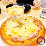Pizza zăm bông dứa