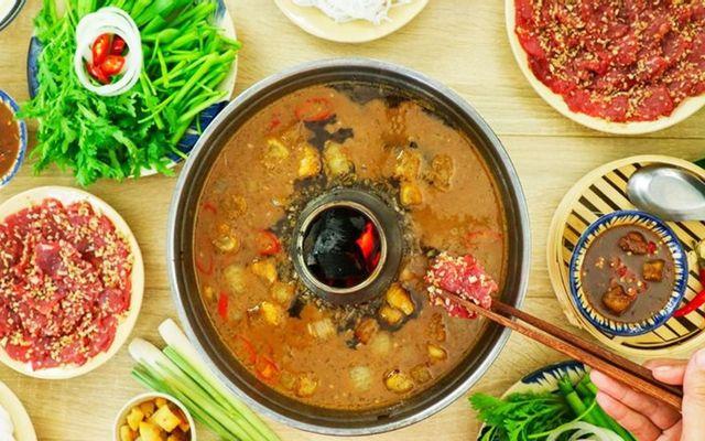 Bếp Quán - Bò Nhúng Mắm Ruốc