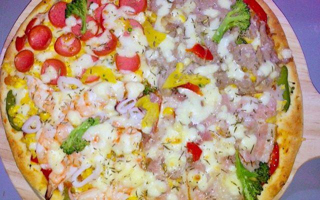 Pizza MyMy 55K - Mỳ Ý Sốt Phô Mai 29K