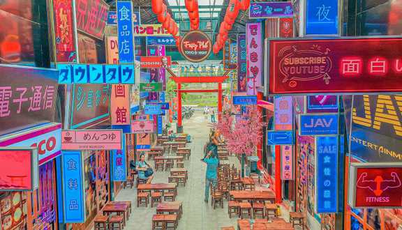 Fuxy Phố: Tokyo By Night - Coffee & Beer