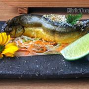 Cá đắng nướng muối