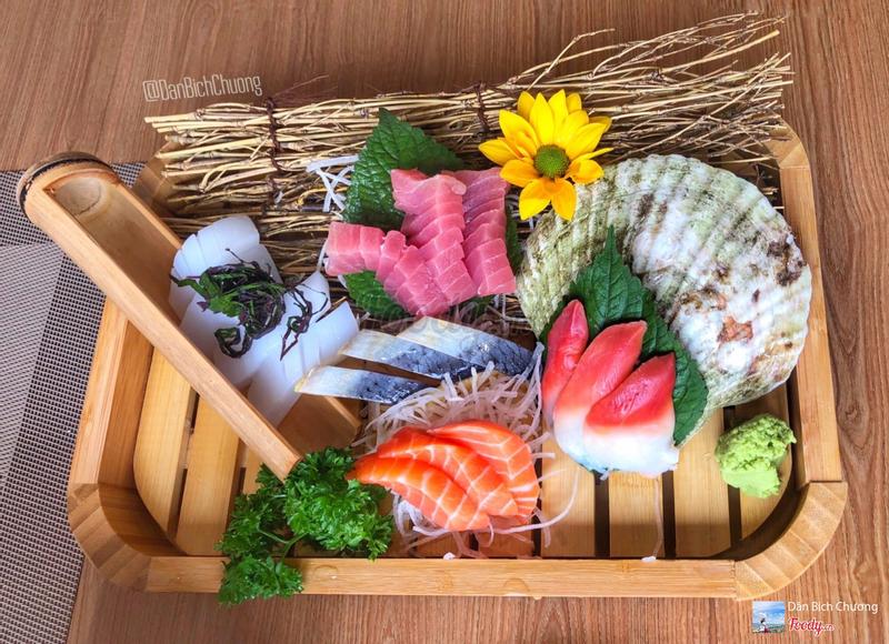 Set 5 loại sashimi