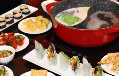 Lẩu Buffet Chay - Nhà Hàng Chay Hongkong