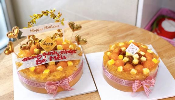 HAPPY CAKE - Bông Lan Trứng Muối - 496 Hoàng Diệu