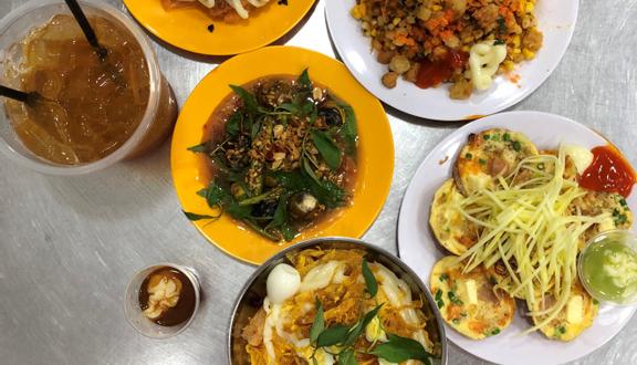 Mực Rim Me Biển Vương - Bánh Tráng Cuốn Trộn & Ăn Vặt - Vạn Kiếp