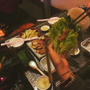 - Thịt nướng mềm ăn kèm với nước mắm tự làm đúng khẩu vị của mình luôn ;))