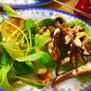 Bạch tuộc nướng satế