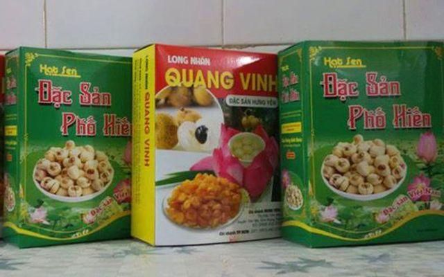 Hưng Yên - Long Nhãn, Hạt Sen, Bột Sắn Dây