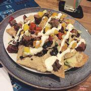 nachos steak