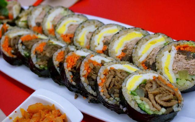 Gimbab Hàn Quốc - Ngọc Lâm
