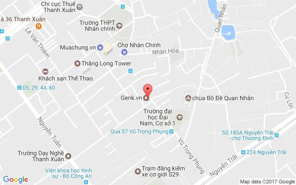 Vị trí bản đồ Igym Fitness & Yoga - Nguyễn Huy Tưởng ở Hà Nội