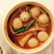 Soup chả cá