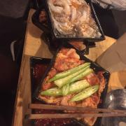 Bạch tuộc + thịt nướng