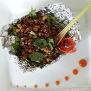 Nấm đậu xúc bánh đa