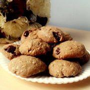 cookie yến mạch nho khô